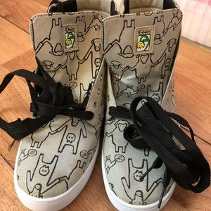 Etnies Shoes - Etnies Gray Sheep Sneakers